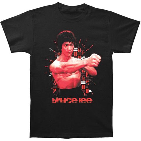 Bruce Lee Men's  The Shattering Fist T-shirt Black