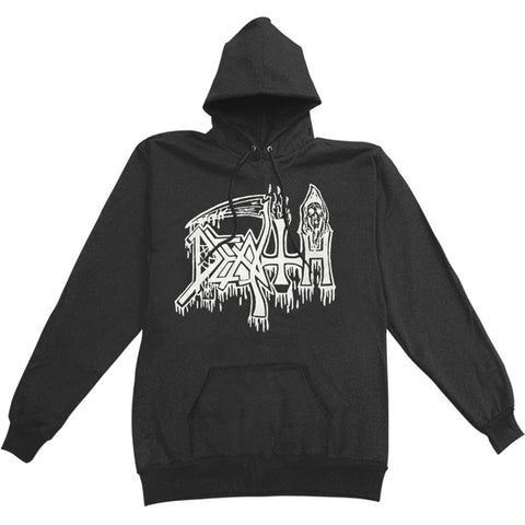 Death Men's  Classic Logo Hooded Sweatshirt Black