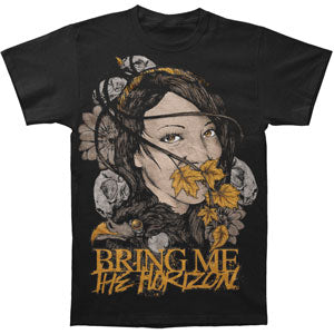 Bring Me The Horizon Men's  Lady Of Life T-shirt Black Rockabilia