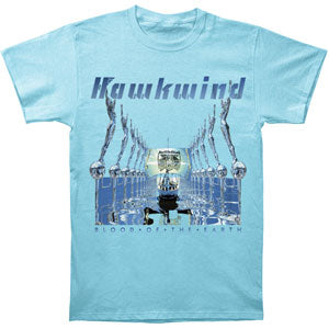 Hawkwind Men's  Blood Of The Earth T-shirt Lt