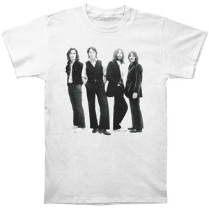 Beatles Men's  White Album Come Together T-shirt White