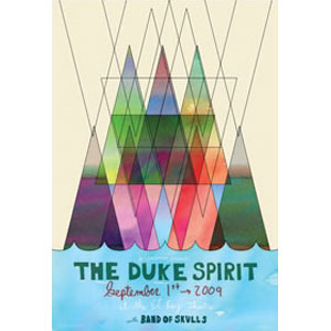 Duke Spirit Limited Screenprint
