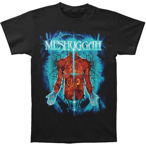 Meshuggah Men's  Branches Of Anatomy T-shirt Black