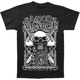 Amon Amarth Men's  Bearded Skull T-shirt Black