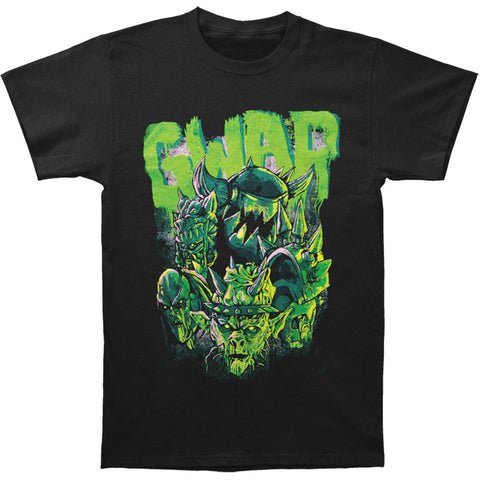 Gwar Men's  DestroyerS Green T-shirt Black