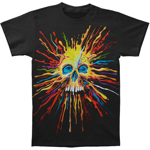 Fantasy Men's  Rusty Skull T-shirt Black Rockabilia