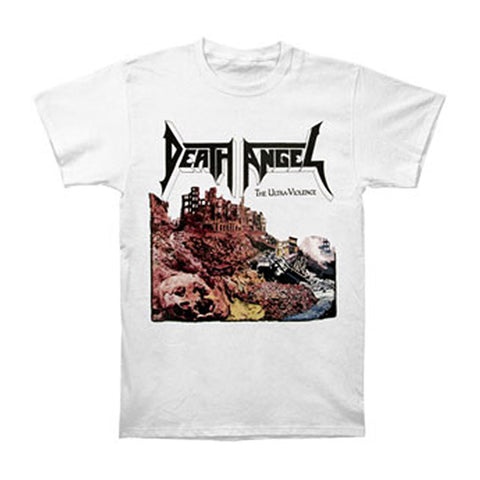 Death Angel Men's  Ultra-Violence T-shirt White