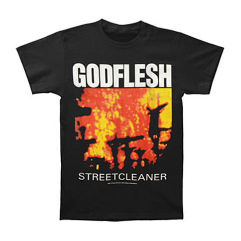 Godflesh Men's  Streetcleaner T-shirt Black