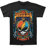 Grateful Dead Men's  Steal Your Trippy T-shirt Black