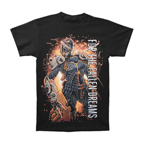 For The Fallen Dreams Men's  Cyborg T-shirt Black