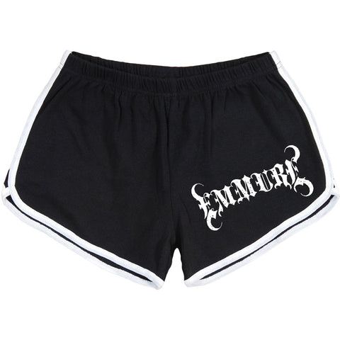 Emmure Women's  Slave Booty Shorts Black