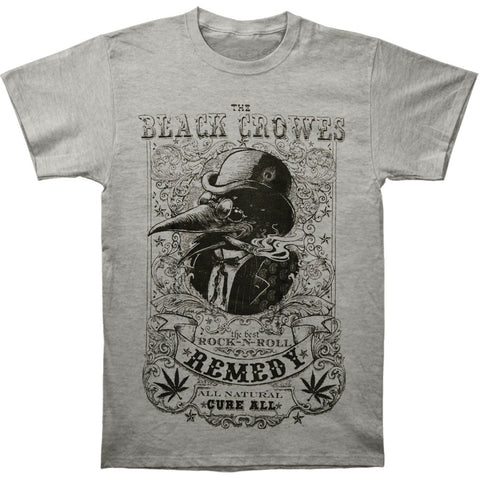 Black Crowes Men's  Remedy T-shirt Grey