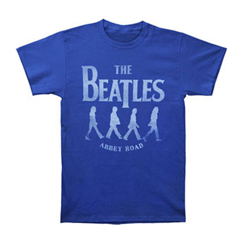 Beatles Men's  Medley T-shirt Blue Rockabilia