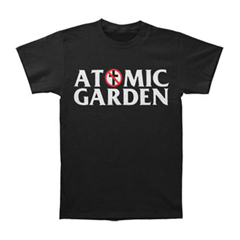 Bad Religion Men's  Atomic Garden T-shirt Black Rockabilia