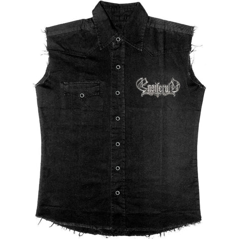 Ensiferum Men's  Weapons Work Shirt Black