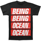 Being As An Ocean Men's  Propaganda T-shirt Black Rockabilia