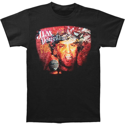 Jim Florentine Men's  Cringe 'n' Purge T-shirt Black