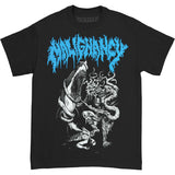 Malignancy Men's  Shark T-shirt Black