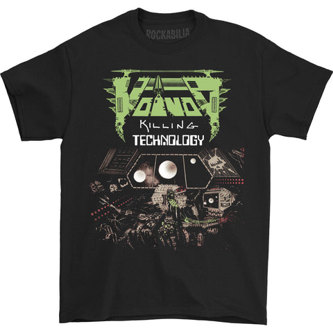 Voivod Men's  Killing Technology T-shirt Black