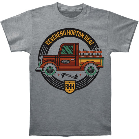 Reverend Horton Heat Men's  Beer Truck T-shirt Grey