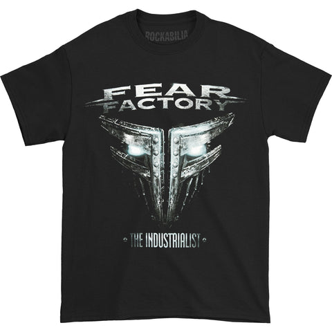 Fear Factory Men's  Industrialist Tour T-shirt Black