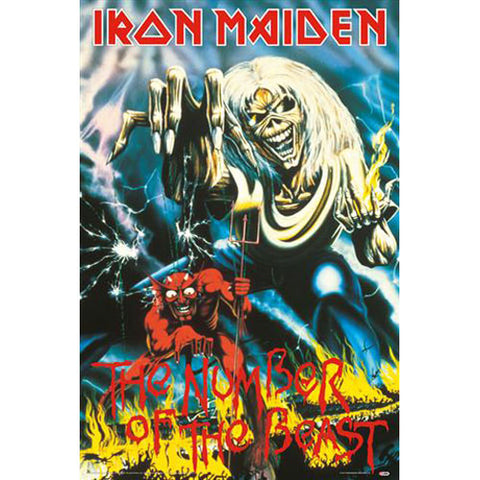 Iron Maiden Domestic Poster