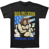 Bad Religion Men's  American Jesus T-shirt Black