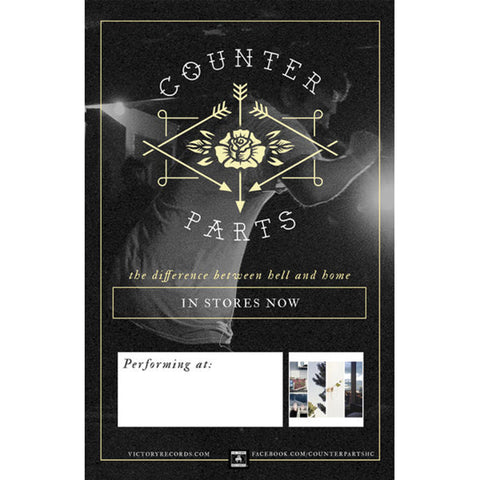 Counterparts Concert Promo Poster