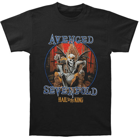Avenged Sevenfold Men's  Deadly Rule T-shirt Black Rockabilia