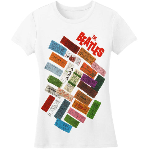 Beatles  Bea-Ticketangle Junior Top White