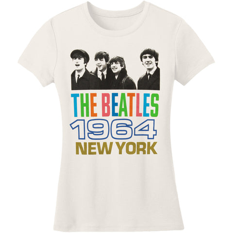 Beatles  64 Girls Jr White Rockabilia