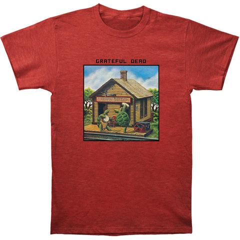 Grateful Dead Men's  Terrapin Station Slim Fit T-shirt Heather
