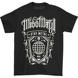 Miss May I Men's  Globe T-shirt Black