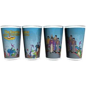 Beatles Pint Glass