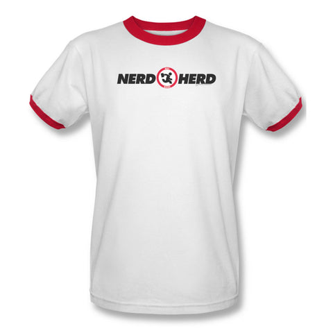 Chuck Men's  Nerd Herd T-shirt Red Rockabilia