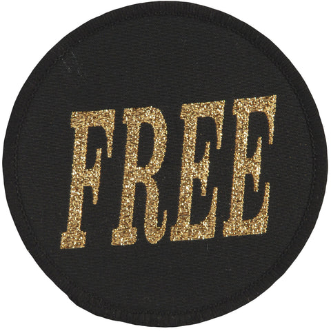 Free Men's 1 Woven Patch Black