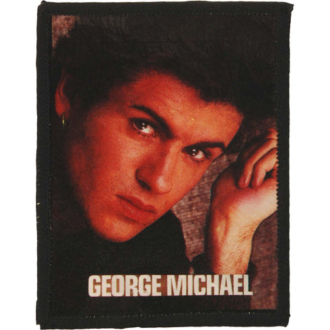 George Michael Men's Photo Photo Patch Black