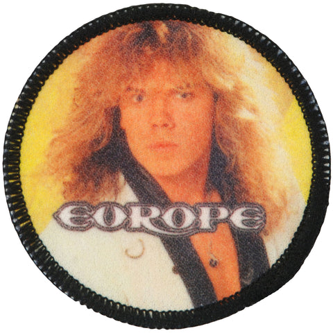 Europe Men's Joey Tempest 2 Photo Patch Black