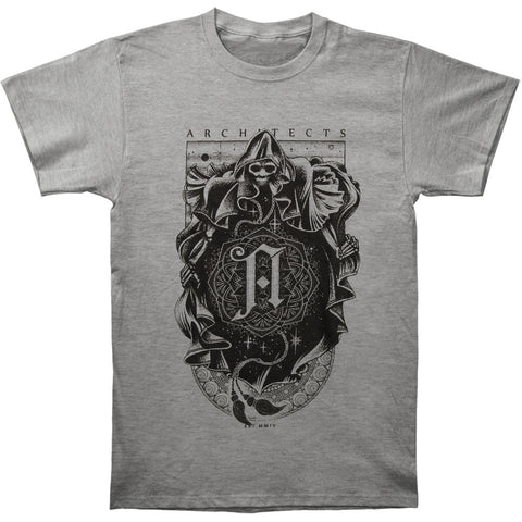 Architects Men's  Reaper Grey T-shirt Grey