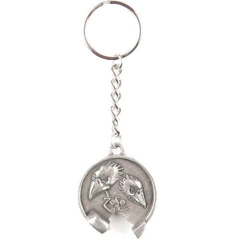 Black Crowes Jimmy Page Key Chain Bottle Opener Silver