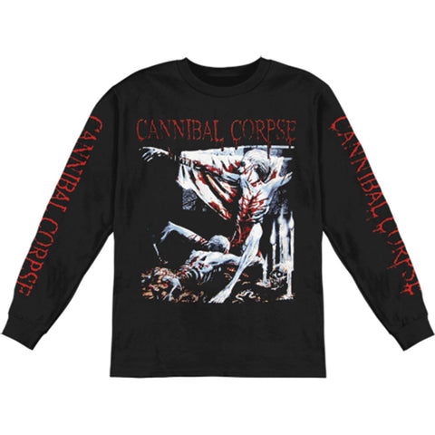 Cannibal Corpse Men's  Tomb Of The Mutilated  Long Sleeve Black Rockabilia