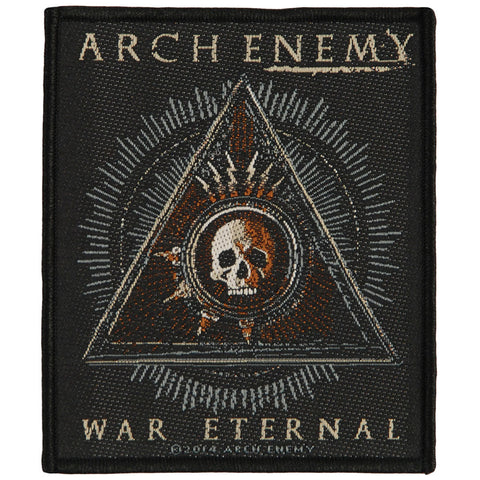 Arch Enemy Men's This Is Fucking War Woven Patch Black