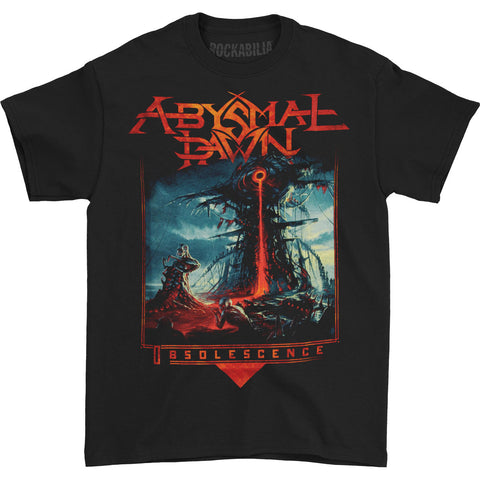 Abysmal Dawn Men's  Obsolescence T-shirt Black