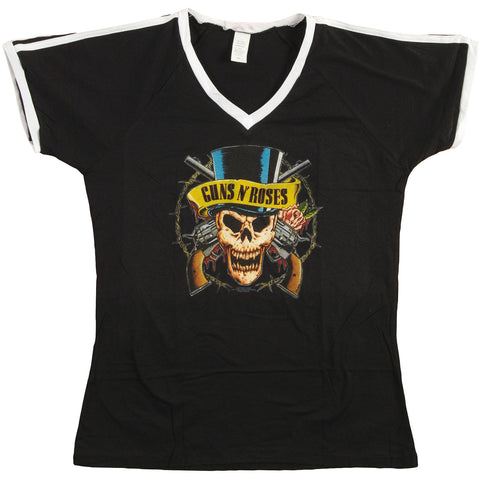 Guns N Roses  Top Hat Junior Top Black