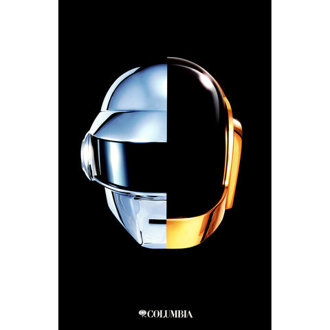 Daft Punk Domestic Poster