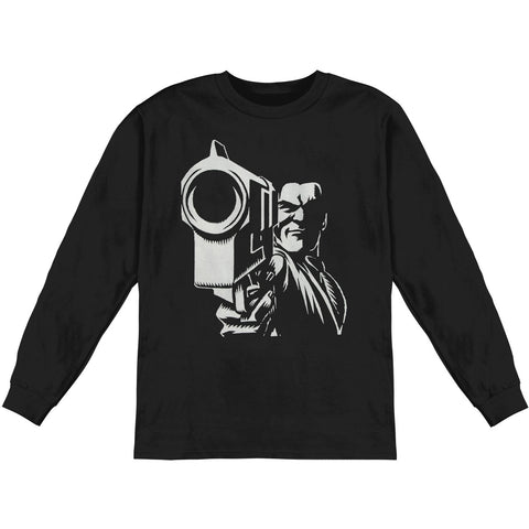KMFDM Men's  In Your Face  Long Sleeve Black