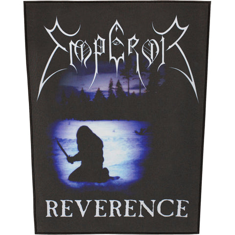 Emperor Men's Reverence Back Patch Black