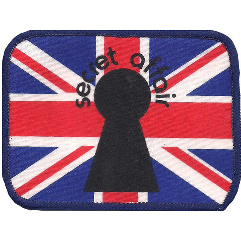 Secret Affair Men's Screen Printed Patch Blue