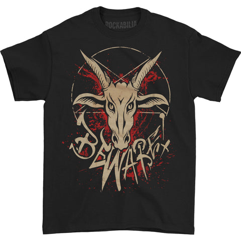 Mushroomhead Men's  Beware Nothing With Goat T-shirt Black