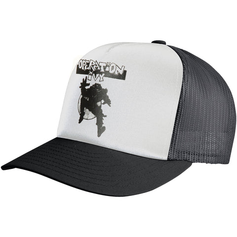 Operation Ivy Men's  Ska Man Trucker Cap White